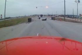 amerika, autóbaleset, autós videó, kamion, mazda3