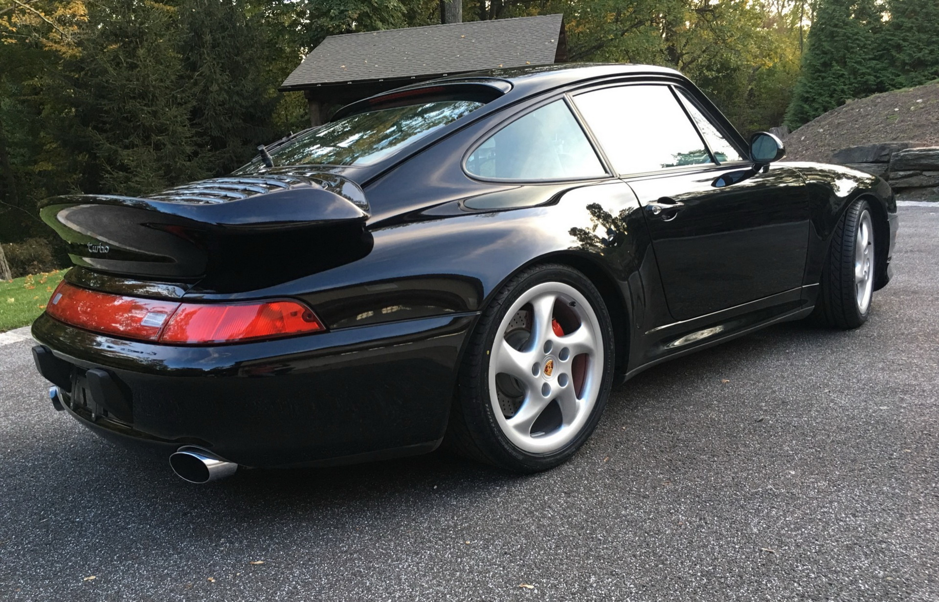 Porsche 993-as 911 Turbo 1996