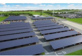 bentley, napelem, széndioxid-kibocsátás