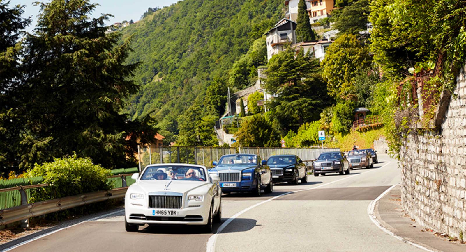 Rolls-Royce Journey Into Luxury olasz túra