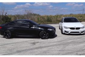 autós videó, bmw m2, bmw m3, dragtimes, gyorsulási verseny, pov video