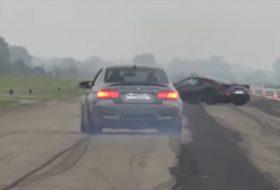 autós videó, bmw m3, g-power, gyorsulási verseny, tuning, új lamborghini