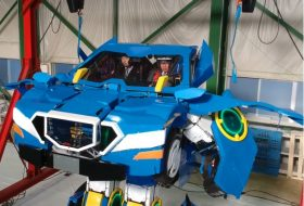 autós videó, robot, transformer
