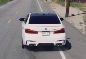 autós videó, bmw m5, drift, reklám, új bmw, vicces