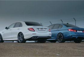 autós videó, autóverseny, bmw m5, drift, e63 amg, mercedes-amg