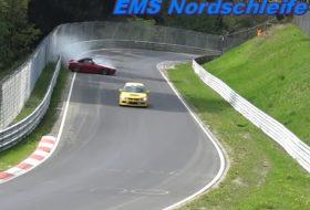 autóbaleset, autós videó, honda s2000, nürburgring, roadster, zöld pokol