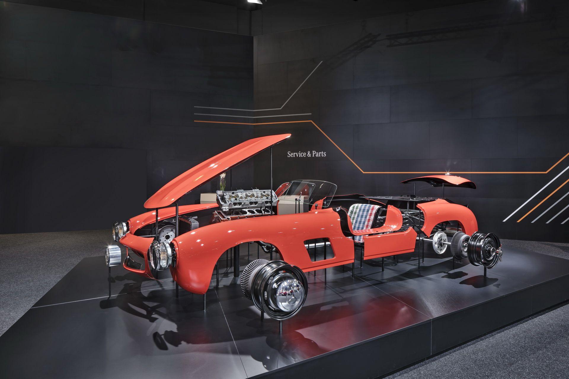Mercedes-Benz 300 SL Gullwing alkatrészek
