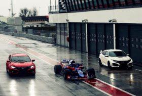 civic type r, forma-1, nürburgring, toro rosso, új honda