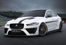 jaguar, nürburgring, tuning, xe sv project 8