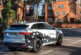 autonóm, jaguar land rover, önvezető