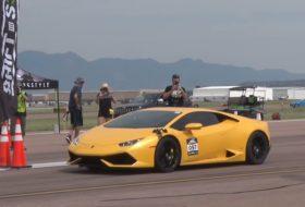 autós videó, gyorshajtás, gyorsulási verseny, huracan, nissan gt-r, sebességi rekord, világrekord