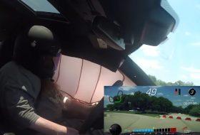 autóbaleset, autós videó, camaro zl1, chevrolet, légzsák