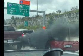 amerika, autós videó, chevrolet, corvette, dízel, dodge, füst, gázolaj, pickup, vicces