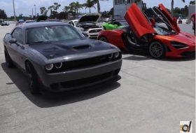 720s, challenger, dragtimes, gyorsulási verseny, hellcat, új dodge, új mclaren