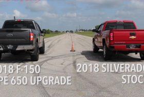 autós videó, f-150, gyorsulási verseny, új ford