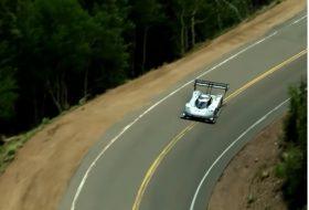 autós videó, elektromos autó, i.d. r pikes peak, pikes peak, új volkswagen, világrekord