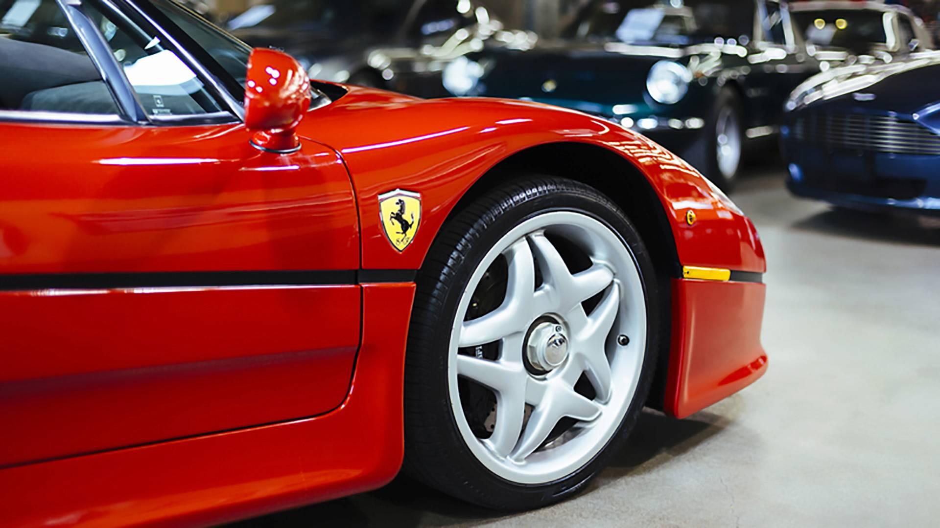Az első Ferrari F50