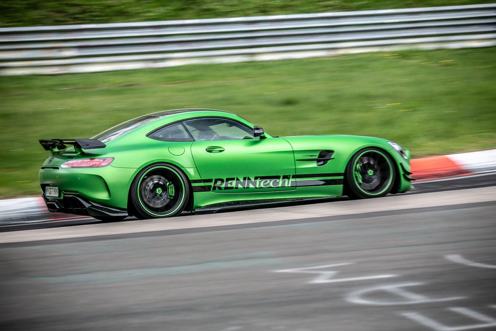 Mercedes-AMG GT R Renntech a Nürburgringen