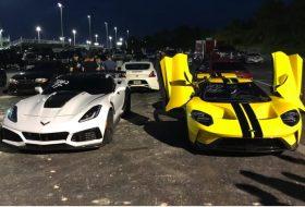autós videó, chevrolet, corvette zr1, gyorsulási verseny, új ford gt