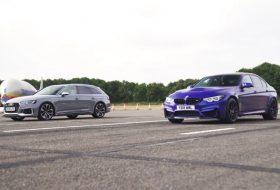 audi rs4 avant, autós videó, bmw m3 cs, carwow, gyorsulási verseny