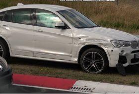 autóbaleset, autós videó, bmw x4, mercedes-amg, nürburgring, peugeot