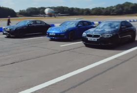 bmw m5, e63 amg, gyorsulási verseny, mercedes-amg, porsche panamera, top gear