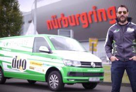 autós videó, ford transit, körrekord, nürburgring, transporter, új volkswagen