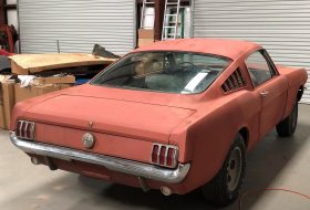 a nap képe, ford mustang, mustang fastback, oldtimer, restomod, shelby