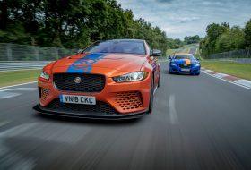 autós videó, körrekord, nürburgring, új jaguar, xe sv project 8