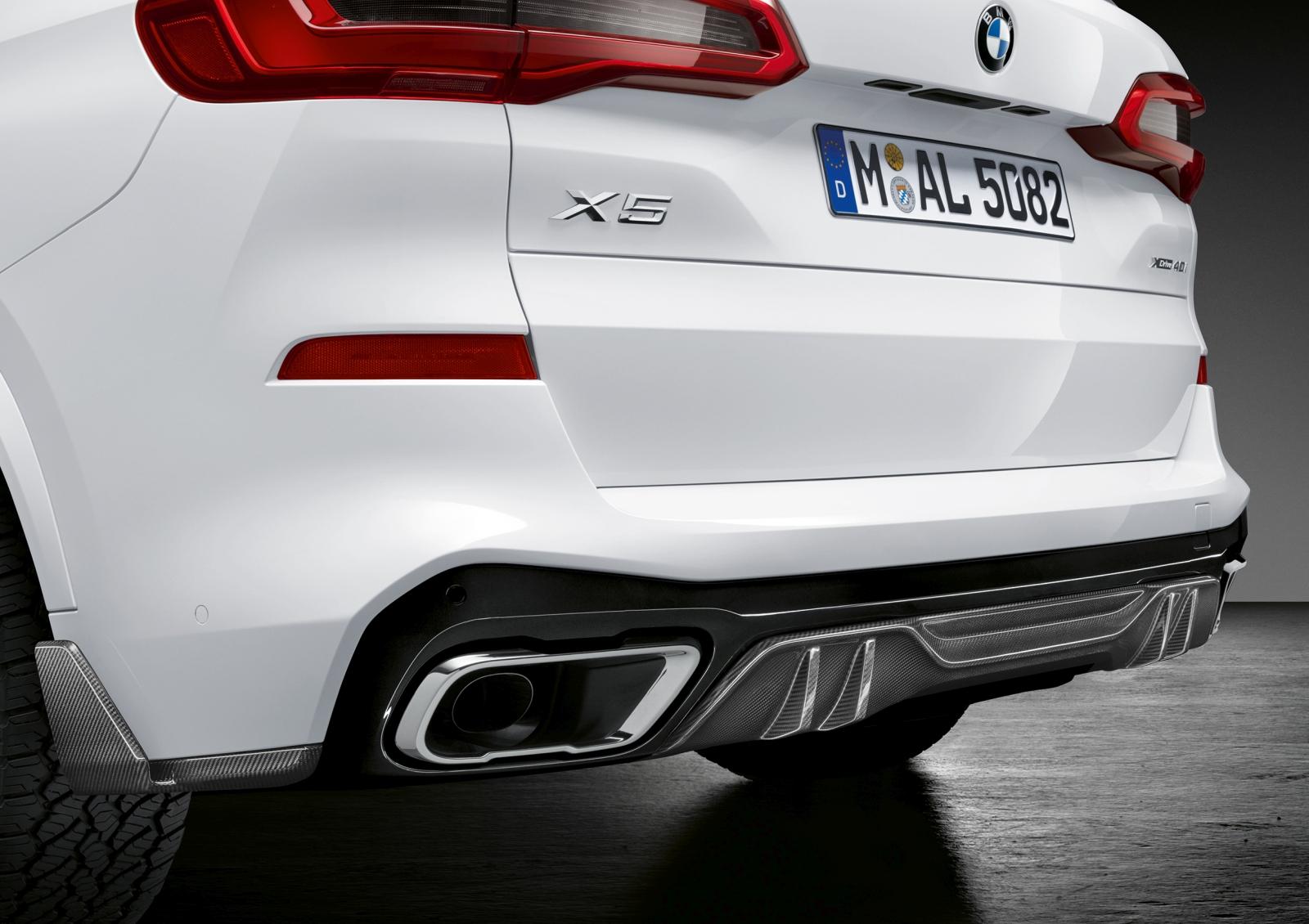 BMW X5 M performance alkatrészekkel