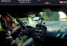 bmw m2 competition, nürburgring, pov video, zöld pokol
