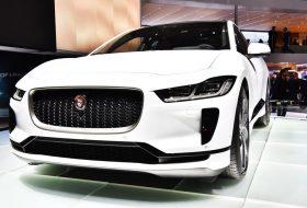 elektromos autó, jaguar i-pace, zöld autó