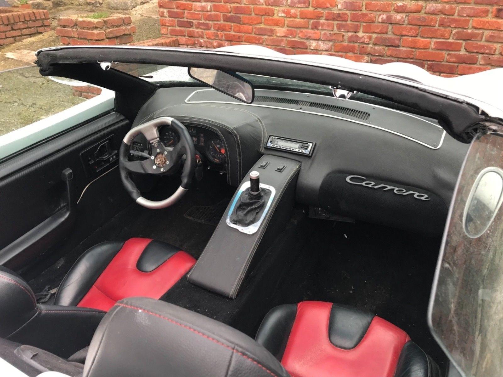 Pontiac Fiero Porsche Carrera GT replika