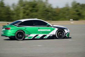 911 gt2 rs, audi rs 3, daniel abt, elektromos, gyorsulási verseny, porsche, rekord
