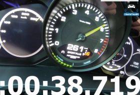 autobahn, autós videó, autotopnl, cayenne e-hybrid, gyorshajtás, gyorsulás, porsche cayenne