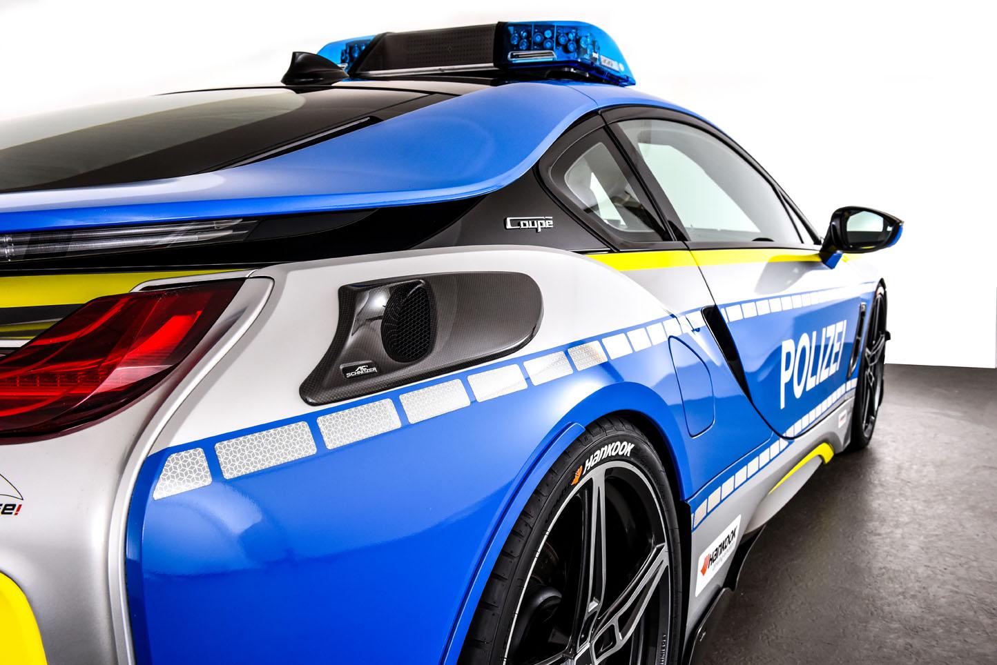 BMW i8 Police TUNE IT! SAFE! by AC Schnitzer