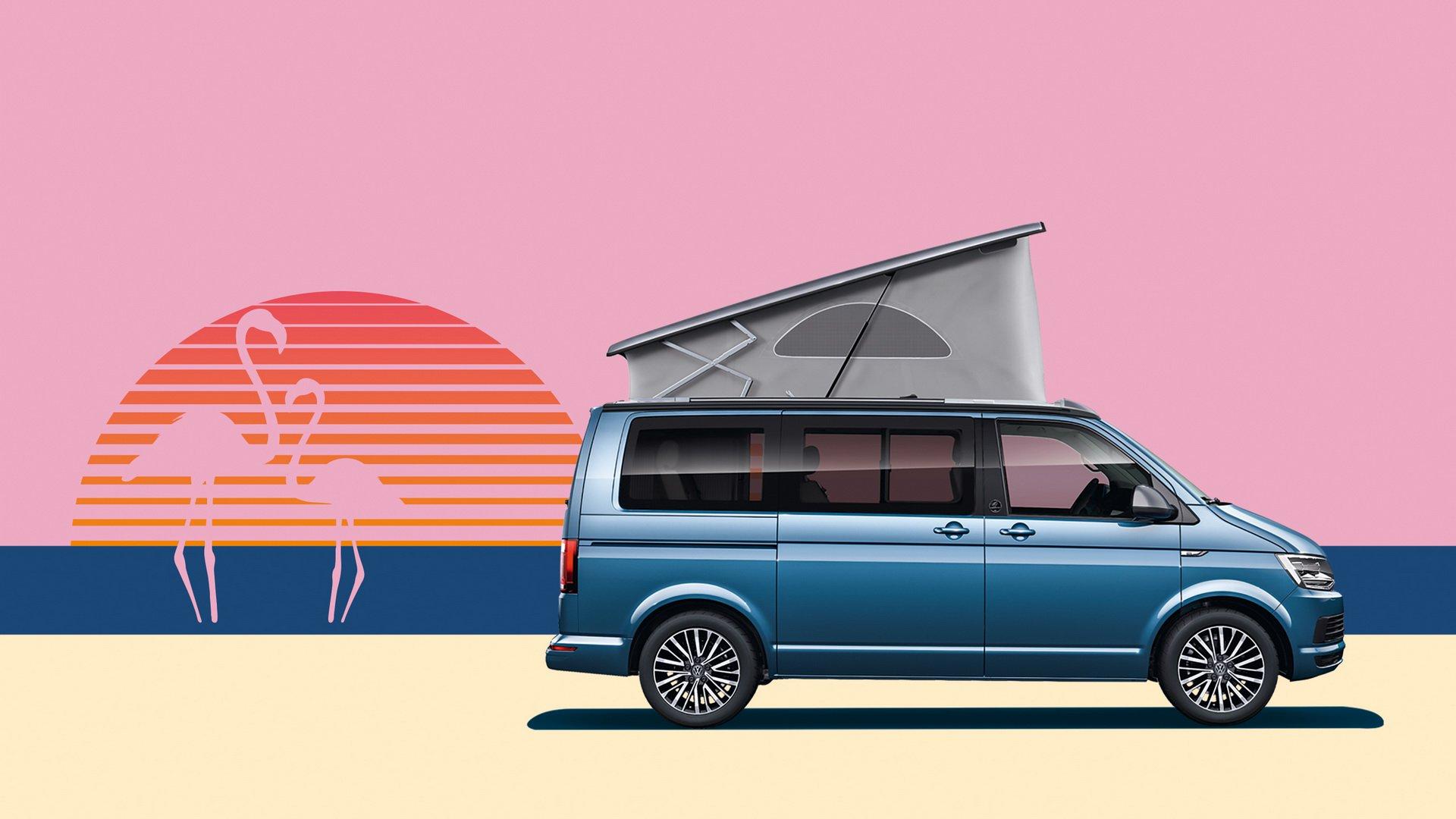 Volkswagen California 30 Years kempingbusz