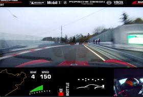911 gt2 rs, autós videó, gyorshajtás, nürburgring, új porsche, zöld pokol
