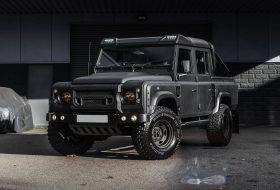 chelsea, defender, egyedi autó, kahn design, land rover, pickup, tuning