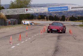 autós videó, jávorszarvas-teszt, közlekedésbiztonság, mx-5 rf, új mazda