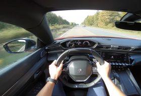 autobahn, autotopnl, gyorshajtás, pov video, új 508, új peugeot