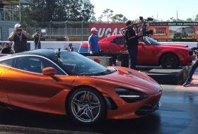 amerika, autós videó, dodge demon, dragtimes, gyorsulási verseny, mclaren 720s
