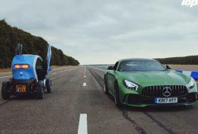 amg gt r, autós videó, elektromos autó, gyorsulási verseny, mercedes-amg, top gear, twizy, új renault, vicces