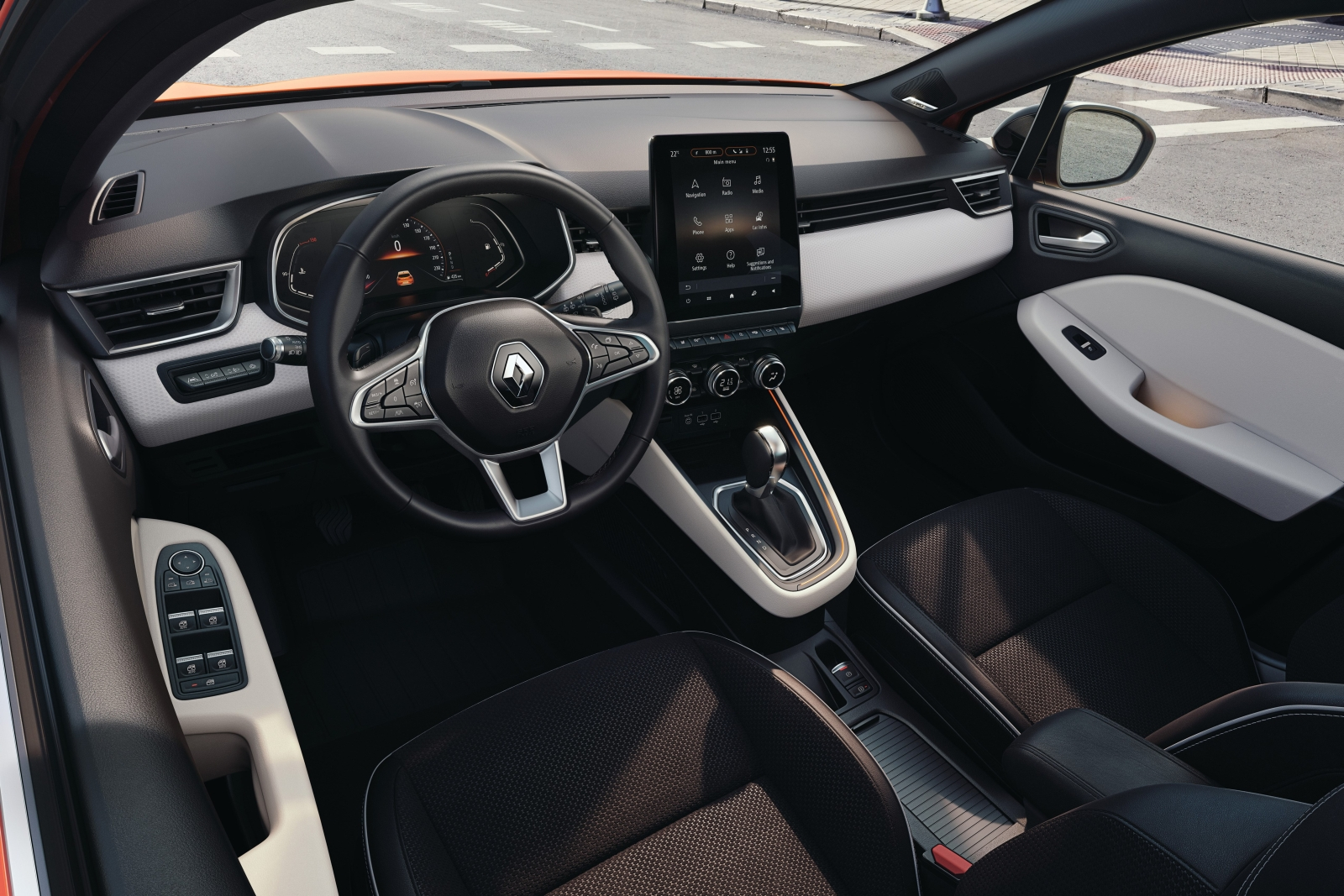 Új Renault Clio belső tér