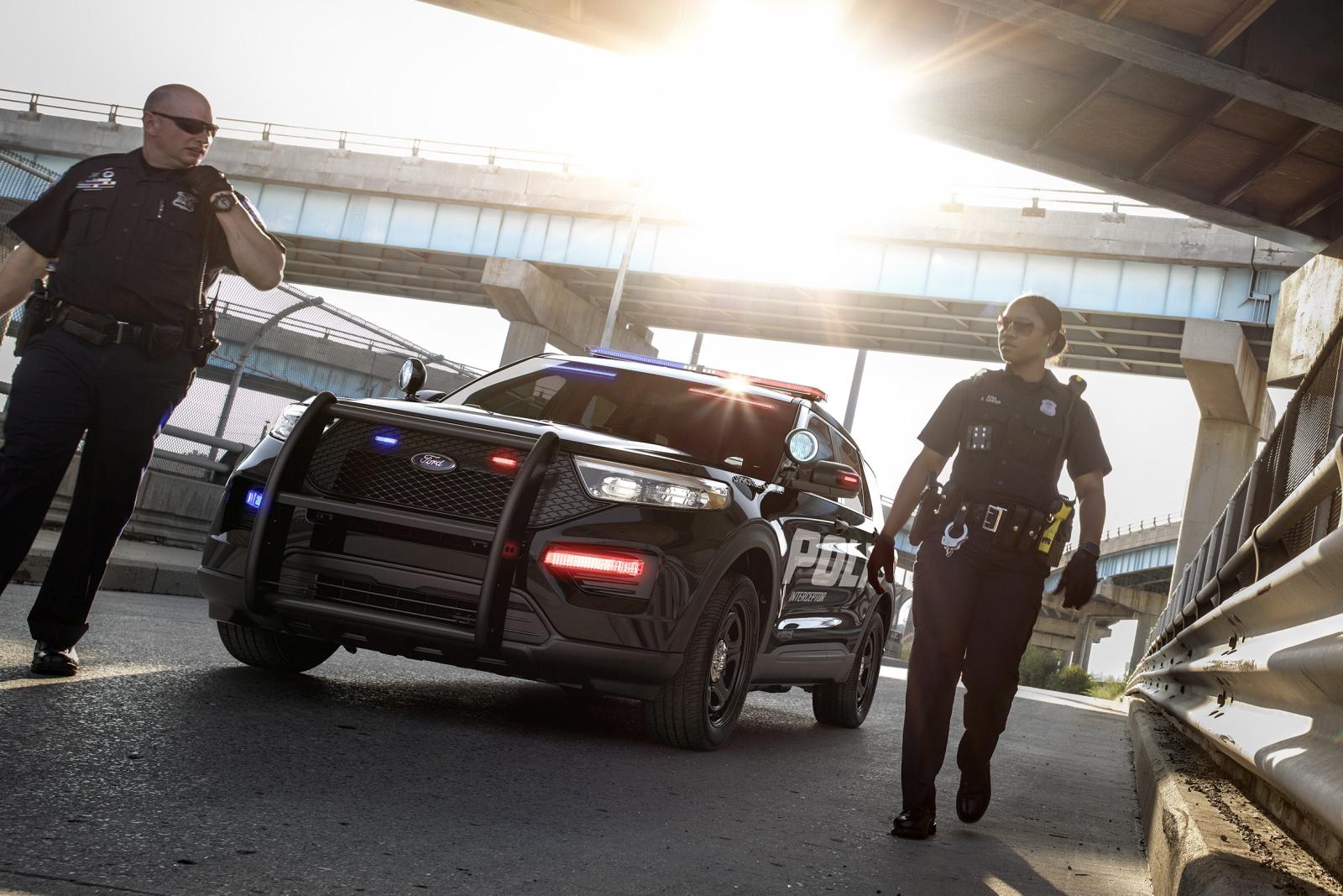 All-New 2020 Ford Police Interceptor Utility Hybrid