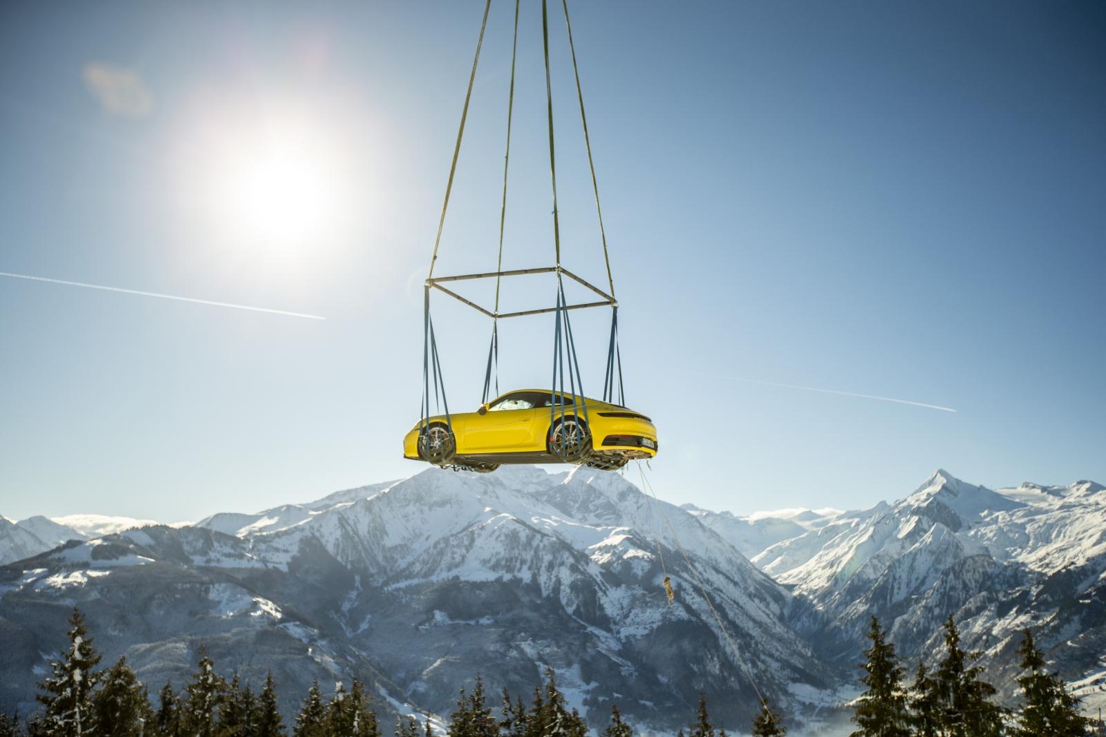 Porsche bemutató Zell am See