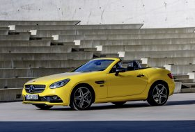 final edition, mercedes-benz, roadster, slc, slk