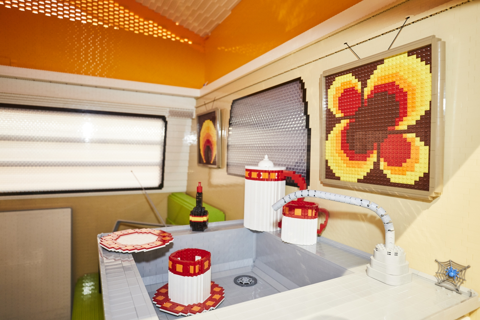 Lego VW T2 kempingbusz