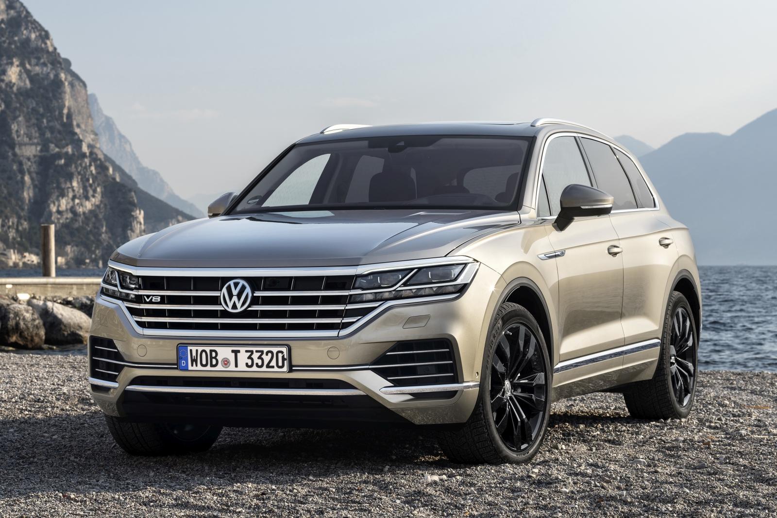 The new Volkswagen Touareg V8 TDI