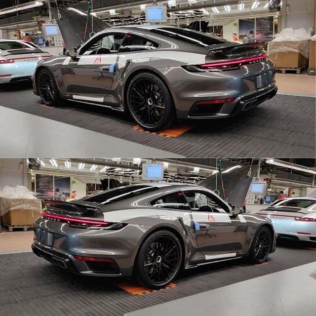 A nap képe: Az új Porsche 911 Turbo
